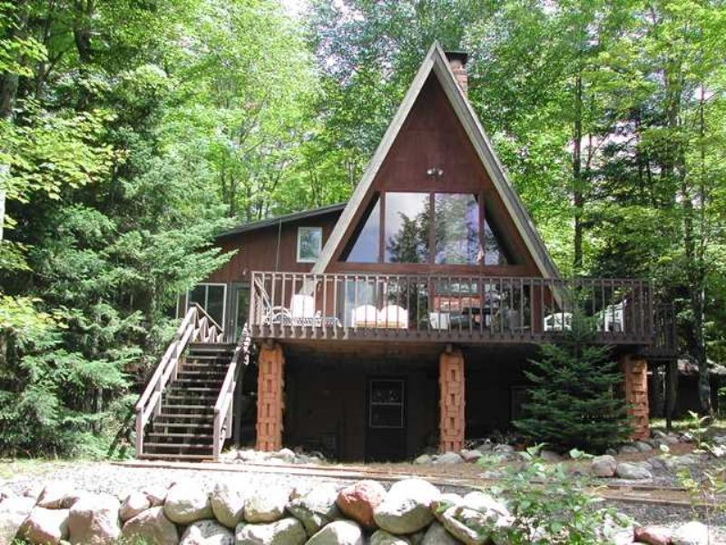 Rock Lake Home : Winchester : Vilas County : Wisconsin