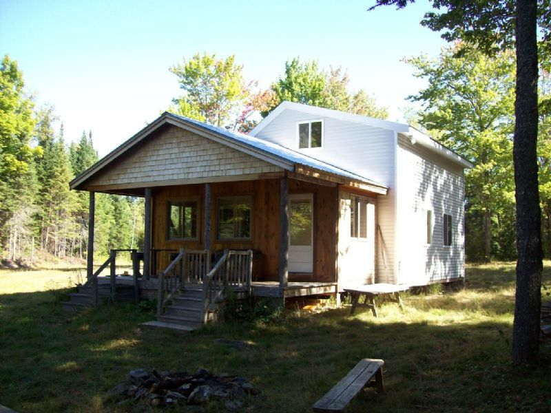Hunting Lodge On 245 Acres : Garland : Penobscot County : Maine