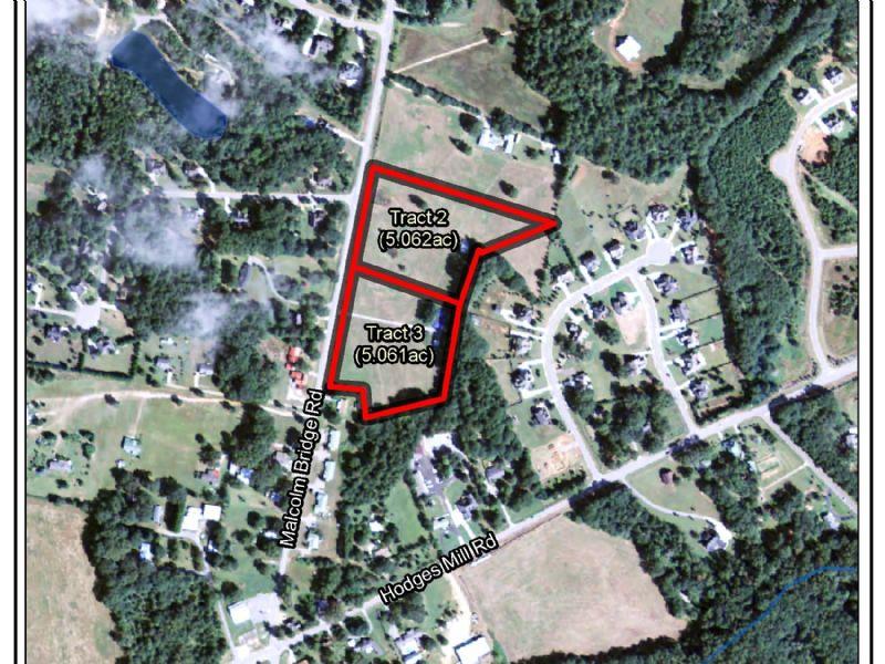 North Oconee Estate Tracts : Bogart : Oconee County : Georgia