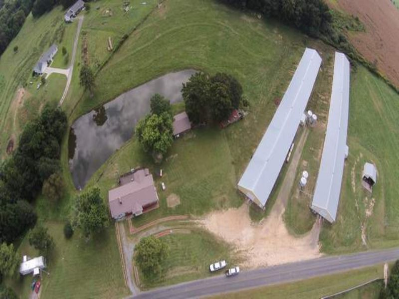 2 House Poultry Farm : Sylvania : DeKalb County : Alabama