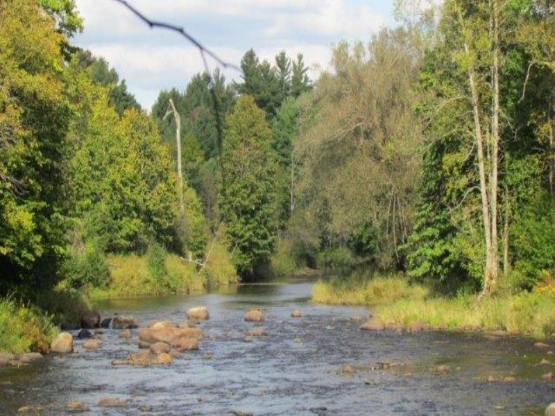 One Mile Of Deer River Frontage : Brasher Falls : Saint Lawrence County : New York