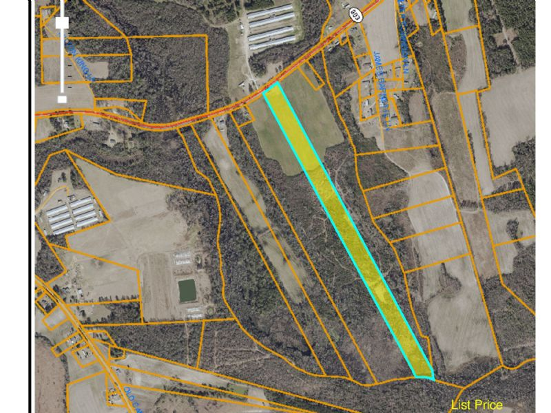 Gardening, Hunting Or Residential : Rose Hill : Duplin County : North Carolina