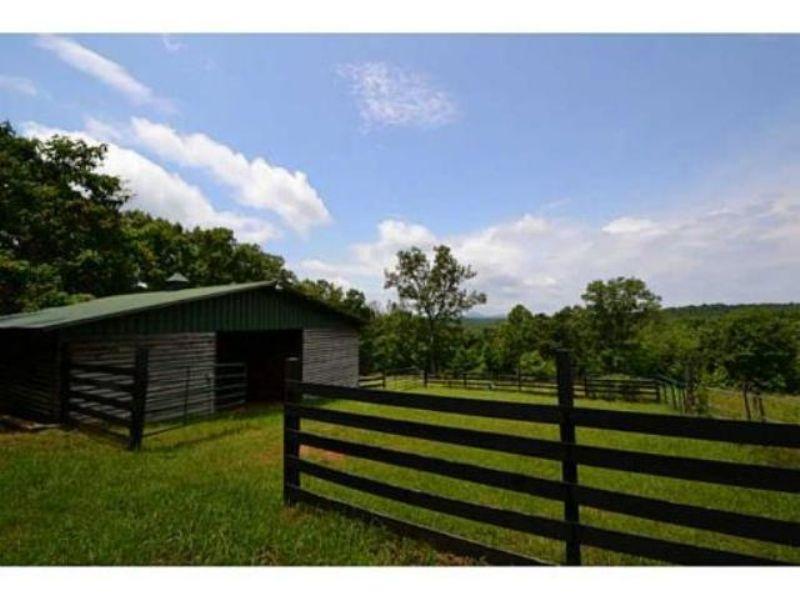 Custom Built Mountain Home : Jasper : Pickens County : Georgia