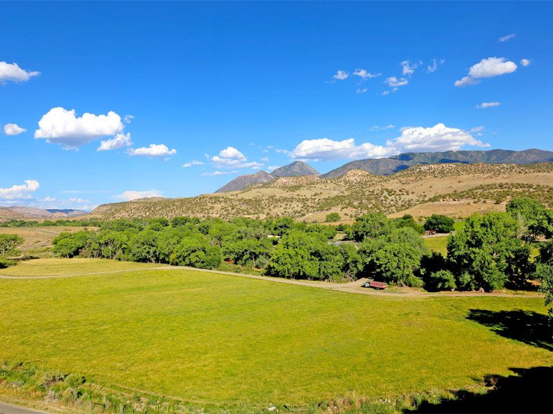 Historical Ranch In Mcelmo Canyon : Cortez : Montezuma County : Colorado
