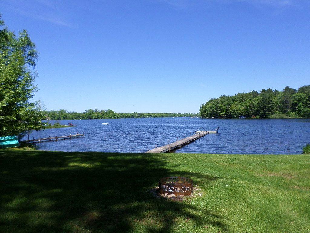 Lake Shishebogama Cabin : Minocqua : Oneida County : Wisconsin