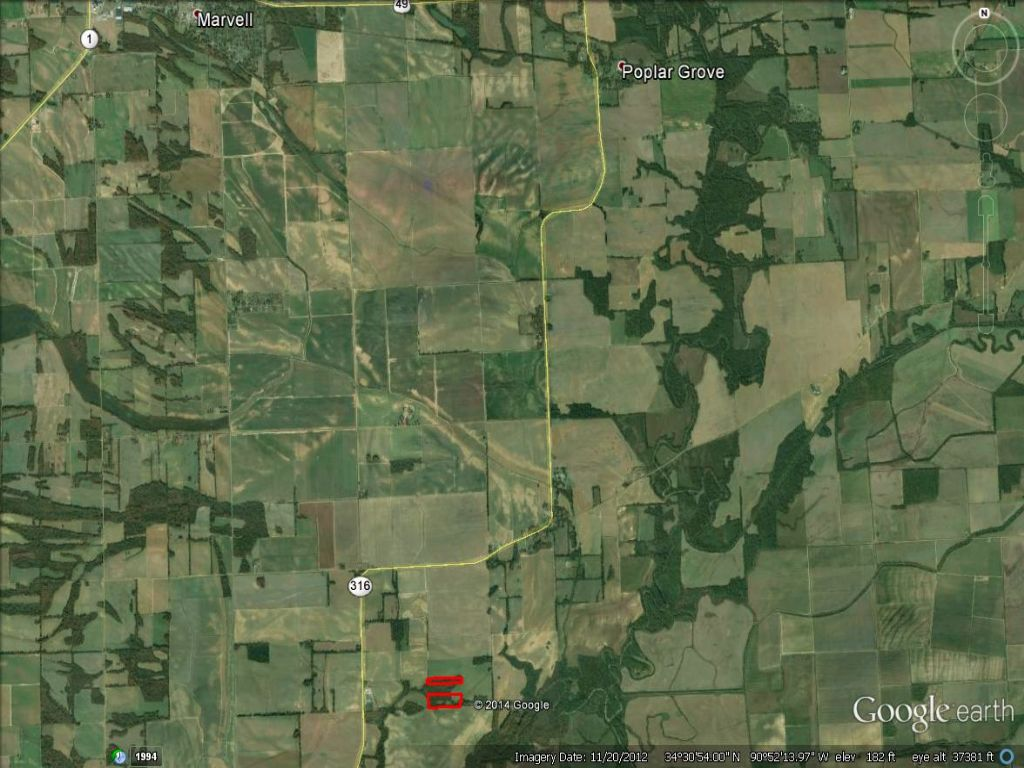 21.26 Acres Farm & Timber Land : Marvell : Phillips County : Arkansas