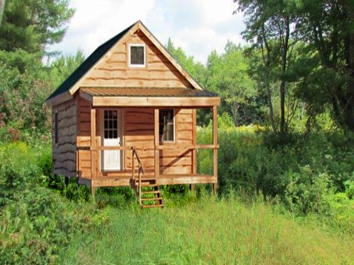 Land & Cabin Package, Borders State : Montague : Lewis County : New York