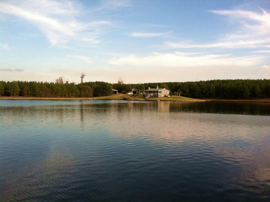 16 Acre Lake,barn And Cabin : Greensboro : Greene County : Georgia