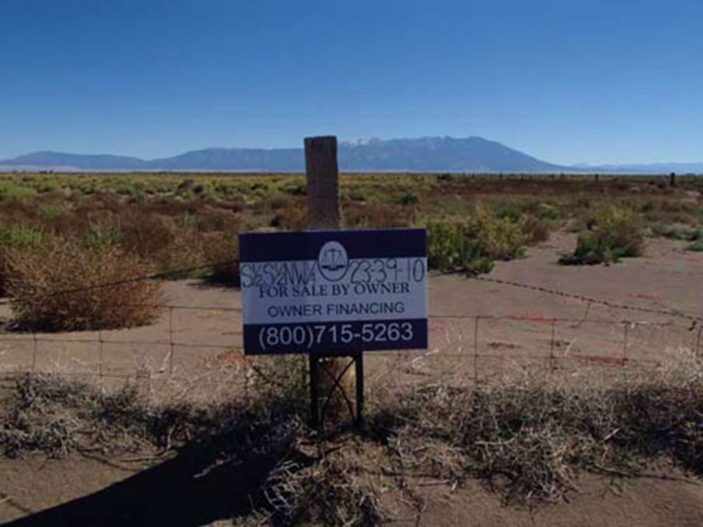 40 Acres, Low Down, Owner Financing : Alamosa : Alamosa County : Colorado