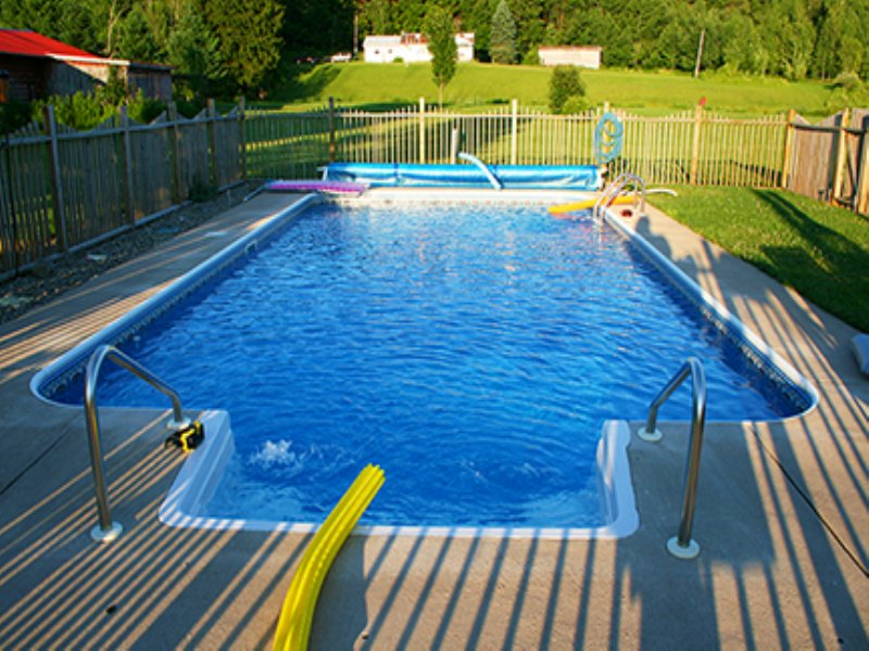 House With Swimming Pool & Barn : Redfield : Oswego County : New York