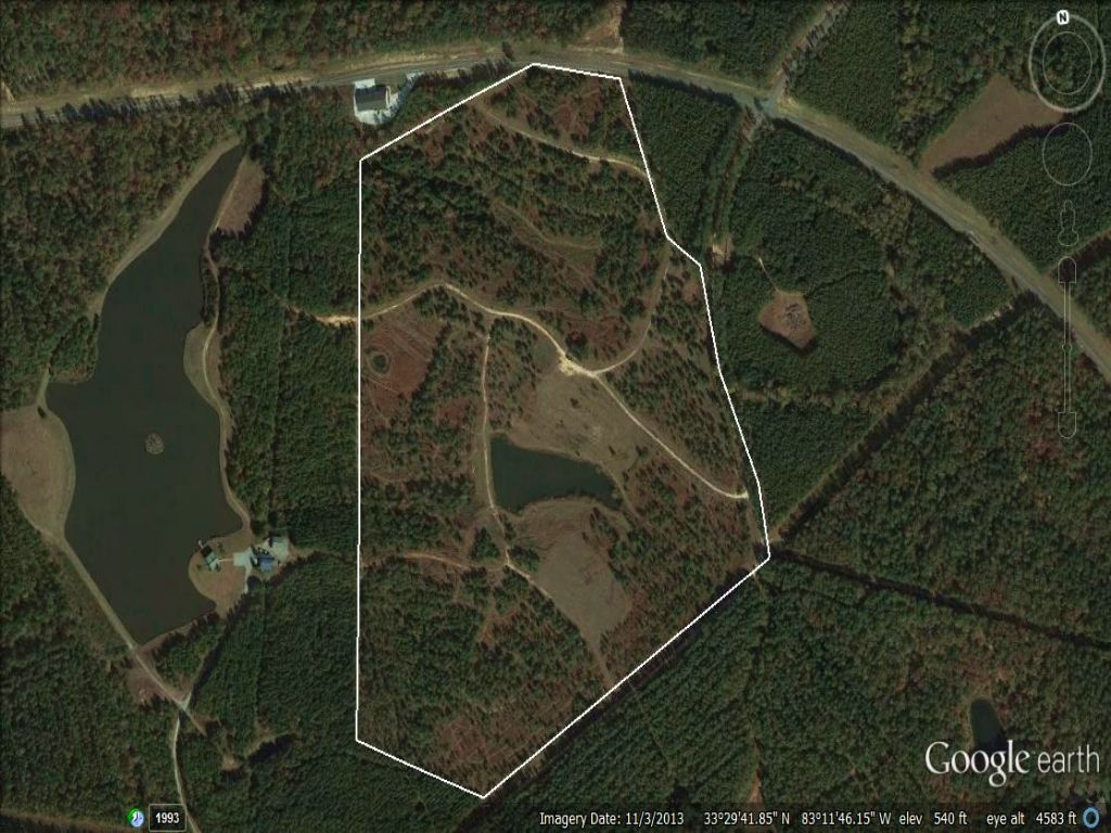 2 Acre Lake Near Publix : Greensboro : Greene County : Georgia