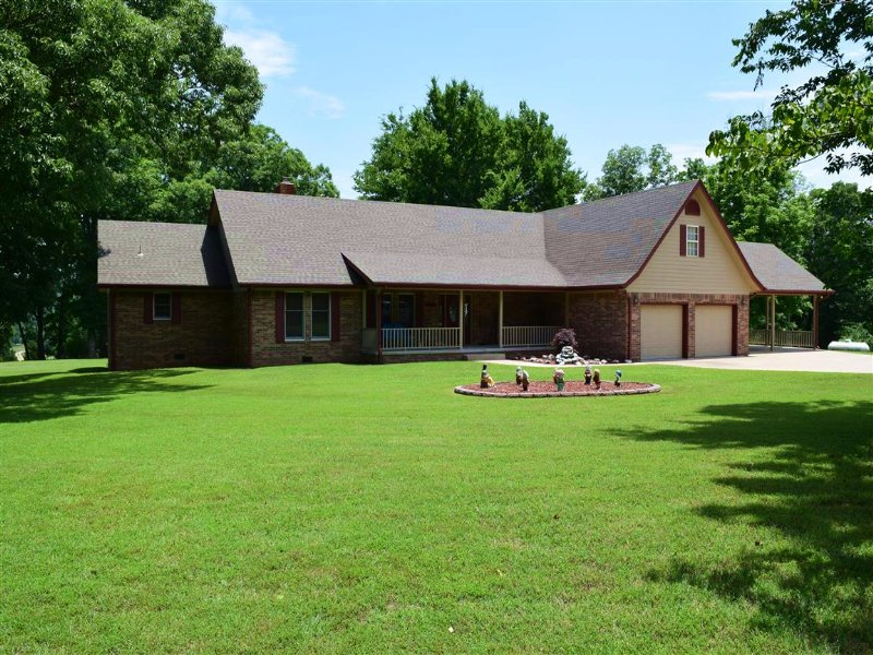 4 Bedroom Home On 416 M/L Acres : Tahlequah : Cherokee County : Oklahoma
