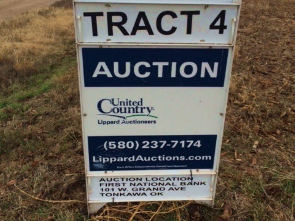 623 Acres Excellent Crop Land : Tonkawa : Kay County : Oklahoma