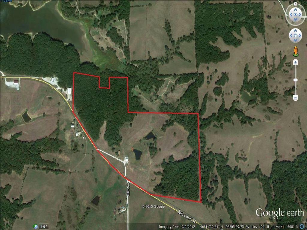 73 Acres And 3 Bedroom Home : Milan : Sullivan County : Missouri