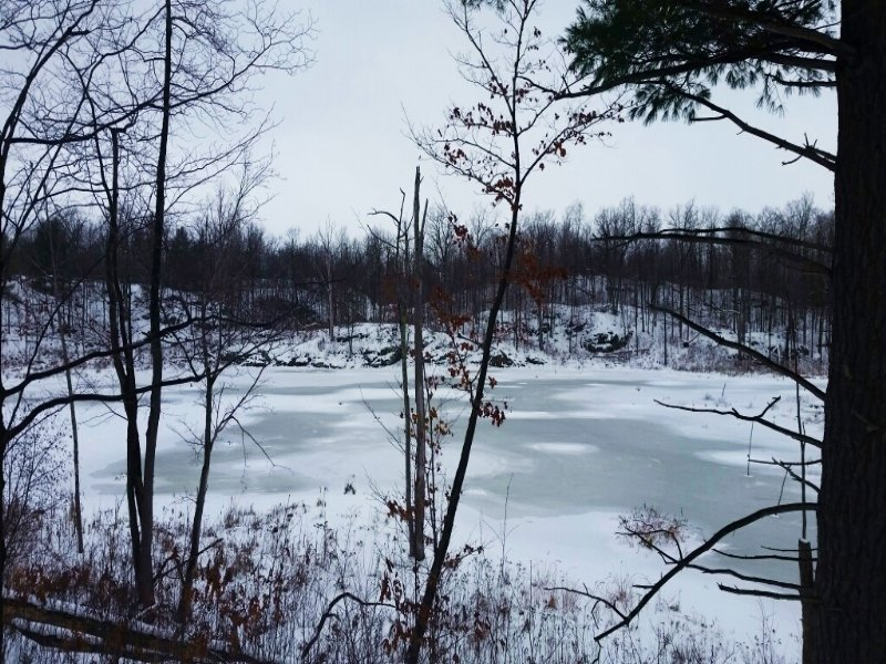 Land Private Pond Near Black Lake : Hammond : Saint Lawrence County : New York