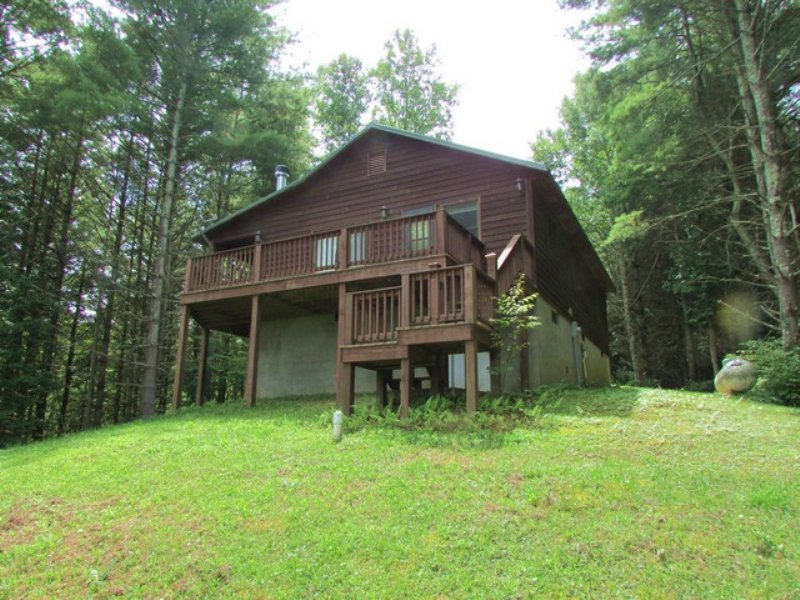 Perfectly Secluded Mountain Retreat : Troutdale : Grayson County : Virginia