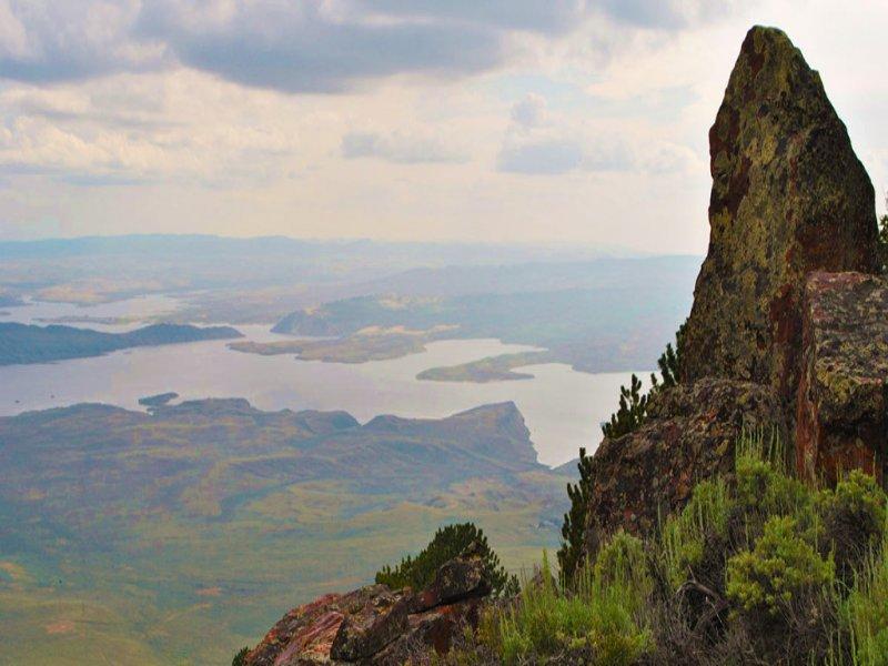 Seminoe Mountain Ranch : Alcova : Natrona County : Wyoming