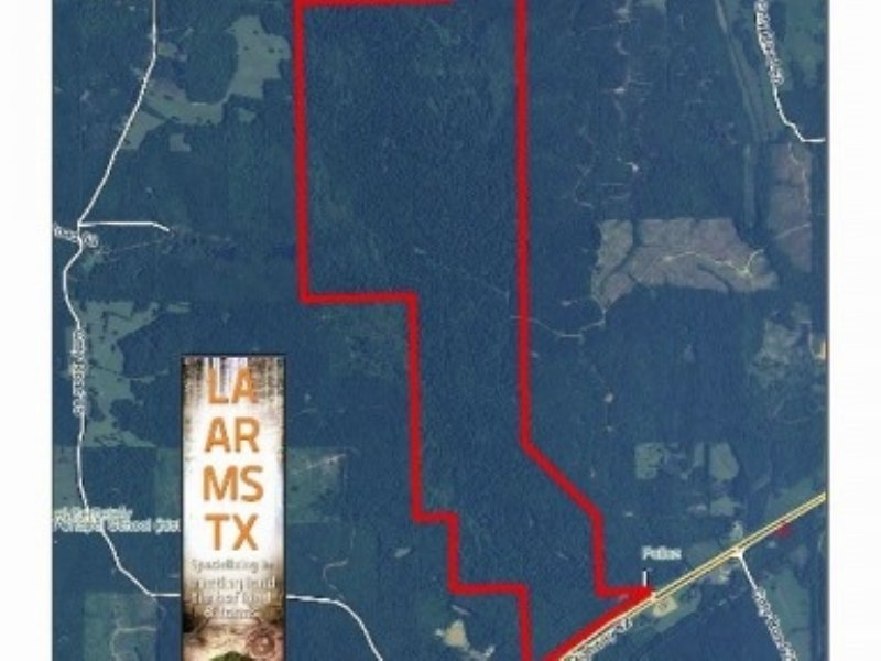 840 - Hunting Tract With New Log Ca : Eupora : Webster County : Mississippi
