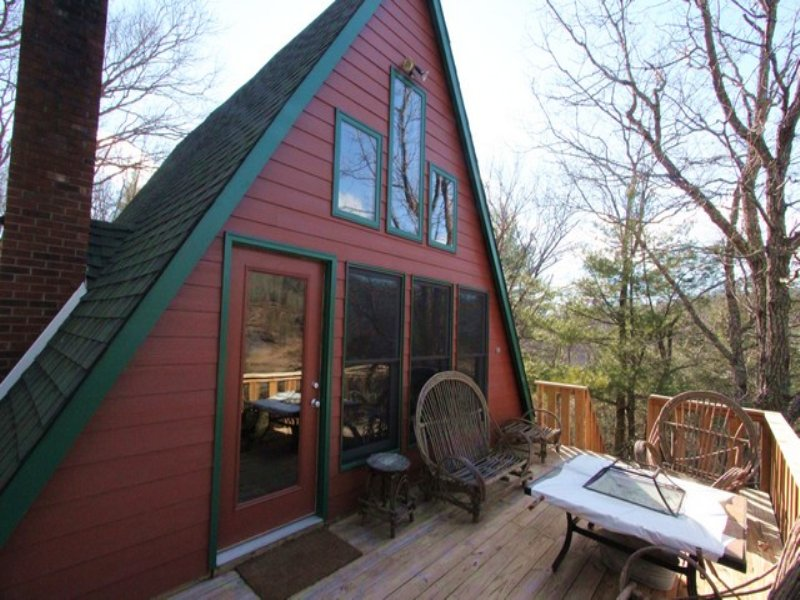 5 Acre/a-frame Cabin/riverfront : Independence : Grayson County : Virginia