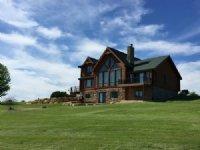Stunning Log Home Estate