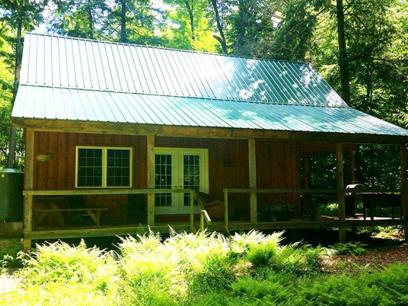 Waterfront Cabin 120 Acre Lake : Amboy : Oswego County : New York