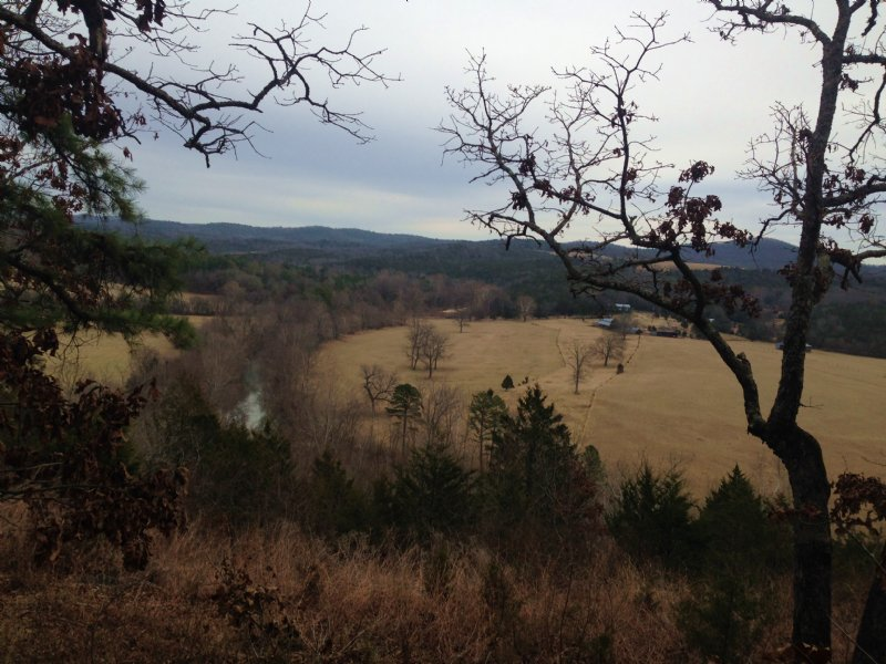 9 Acres Big Piney Frontage : Gorby : Izard County : Arkansas