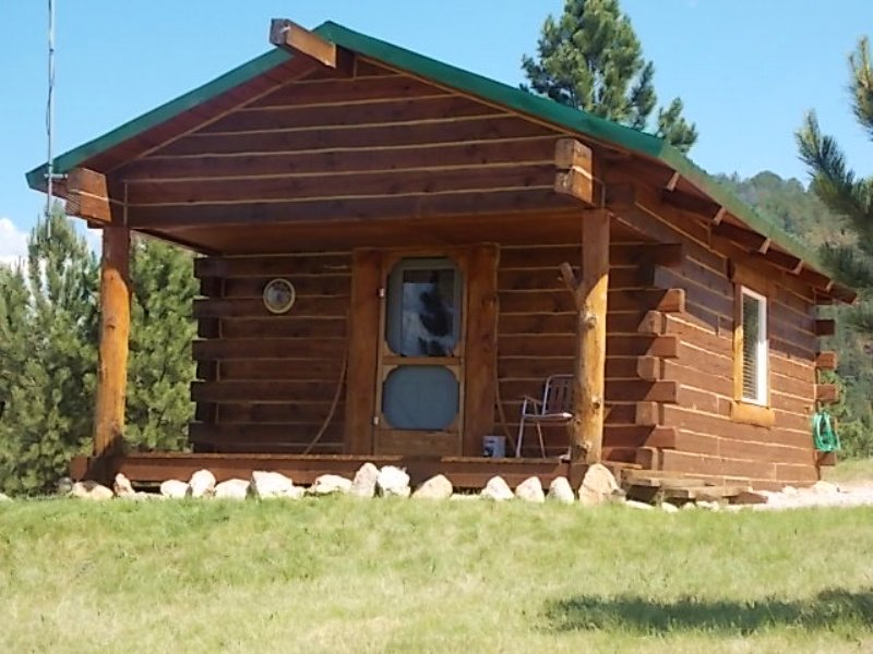 Cabin On The Mountain : Sundance : Crook County : Wyoming