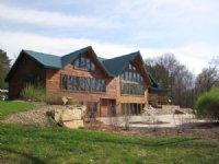 Spectacular Riverfront Log Home