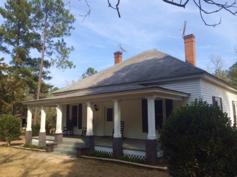 Historic Home, Hunting, And Timber : Butler : Taylor County : Georgia