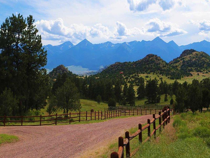 Fazenda Ranch : Westcliffe : Custer County : Colorado