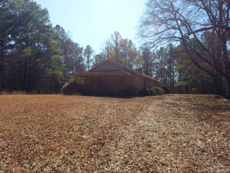 55+/- Acres : Delta : Randolph County : Alabama
