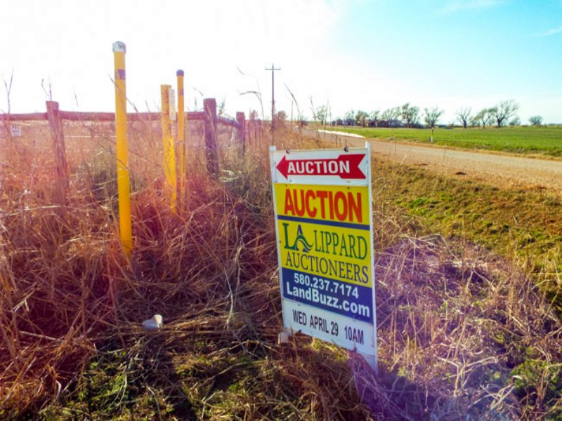 4/29 Auction: 82 Acres : Marshall : Logan County : Oklahoma