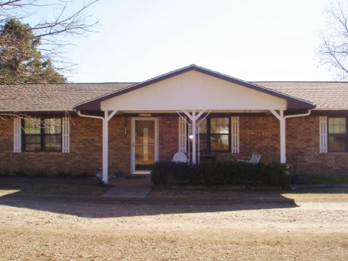 Ranch Home On 30 Country Acres : Blossom : Lamar County : Texas