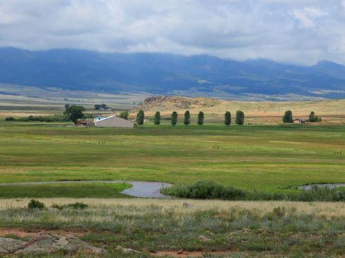 Seven Diamonds Ranch : Westcliffe : Custer County : Colorado