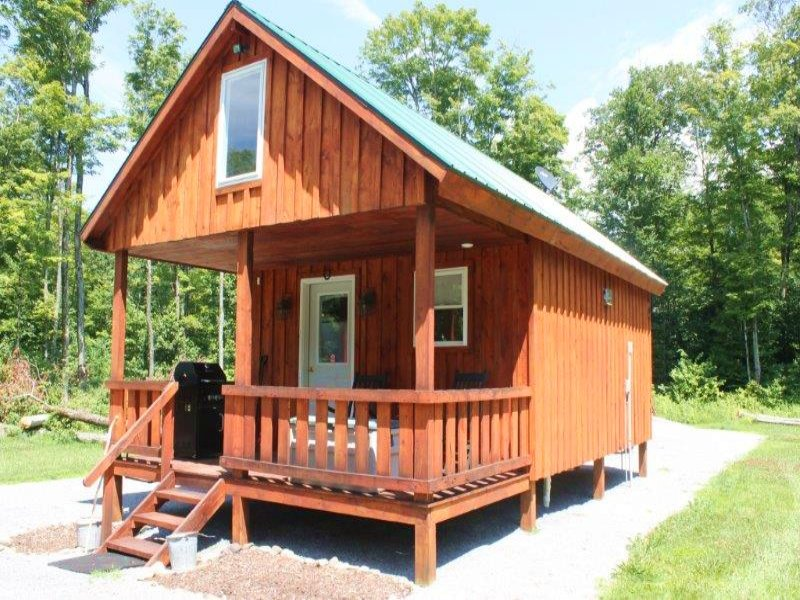 Cabin With All Amenities 59 Acres : Lewis : Lewis County : New York