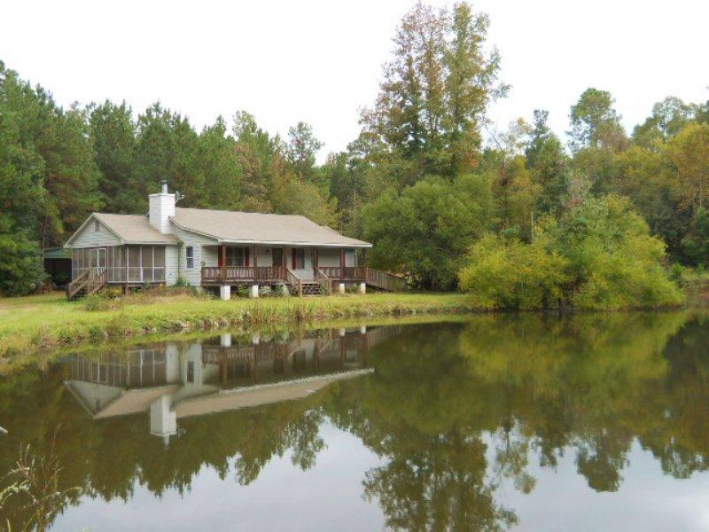 167 Ac Thompson Waddell Rd. : Woodbury : Meriwether County : Georgia