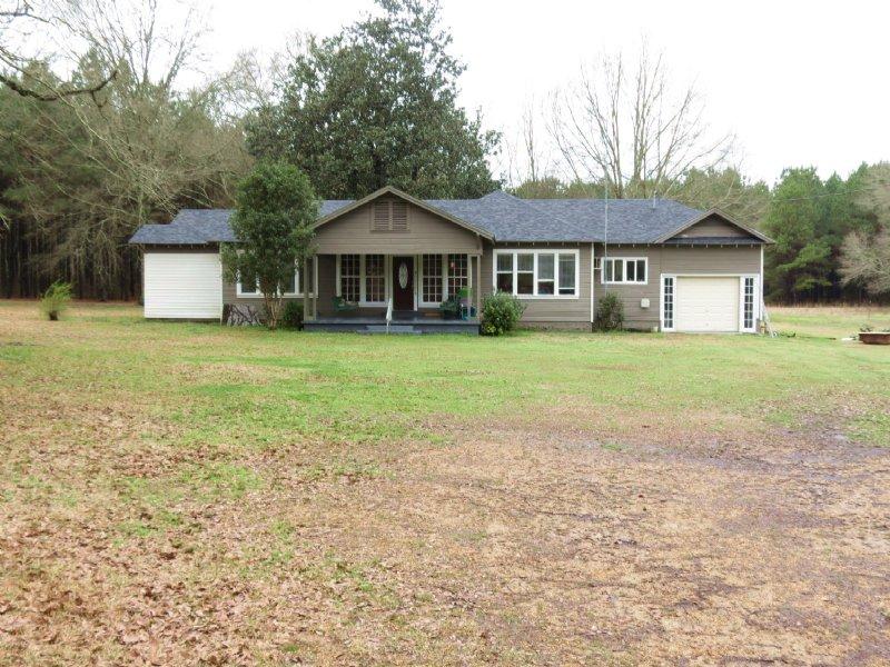 Home & 11 Acres In Osyka : Osyka : Amite County : Mississippi