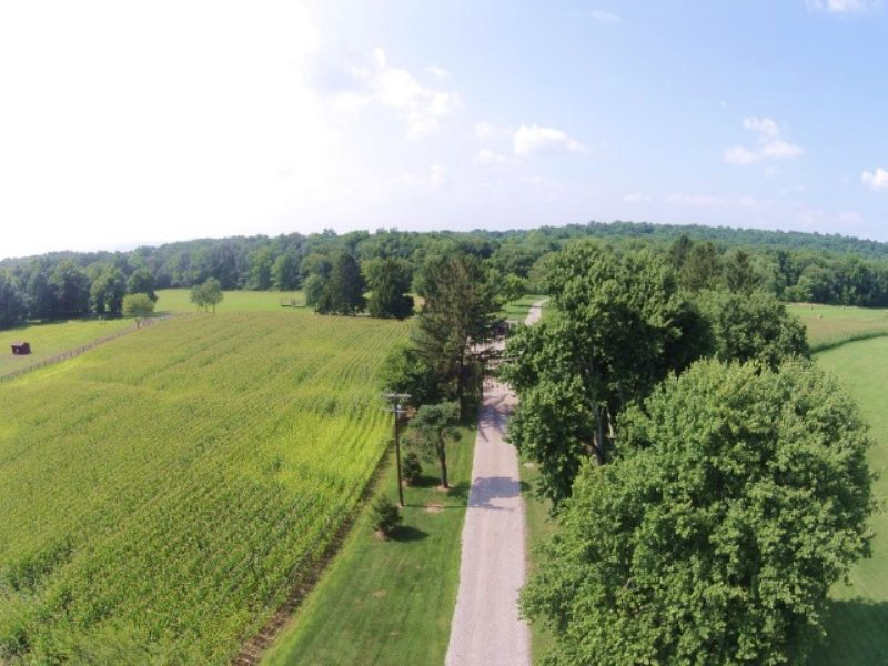 92+/- Acre Farm : Glen Gardner : Hunterdon County : New Jersey