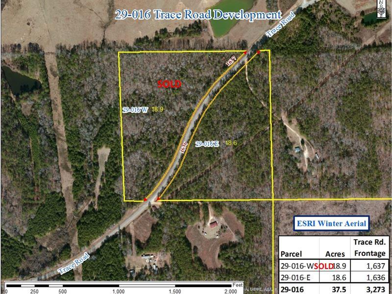 29-016E 29-016 Trace Road Development East : Wetumpka : Elmore County : Alabama