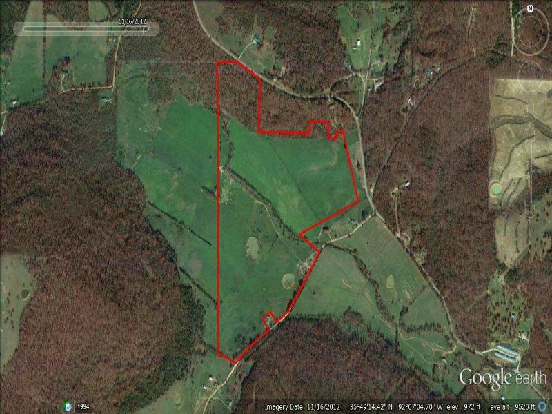 136 Acres Near Mountain View : Mountain View : Stone County : Arkansas