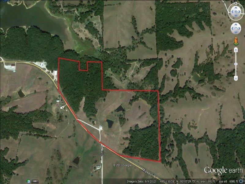 73 Acres And Home : Milan : Sullivan County : Missouri