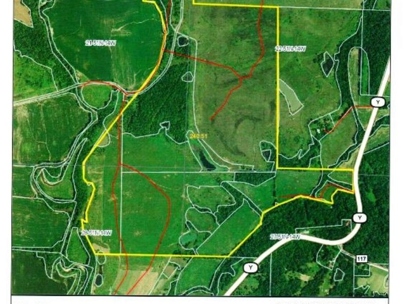 240 Acres : Fayette : Howard County : Missouri