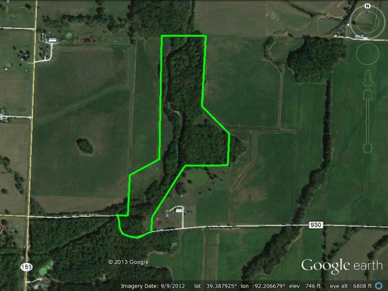 40.8 Acres : Middle Grove : Monroe County : Missouri