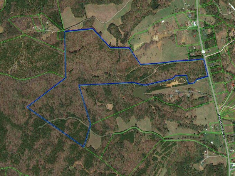 Large Acreage Tract : Callands : Pittsylvania County : Virginia