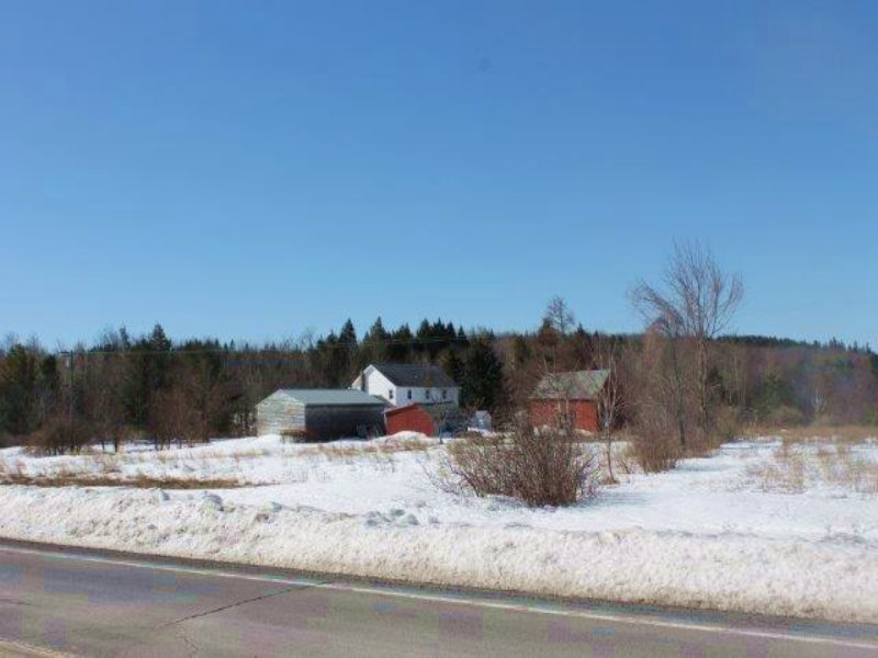 Farmland Home And Barns : Berne : Albany County : New York