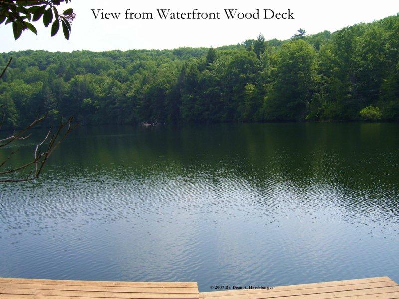 Hazard Pond : Roaring Brook Township : Lackawanna County : Pennsylvania