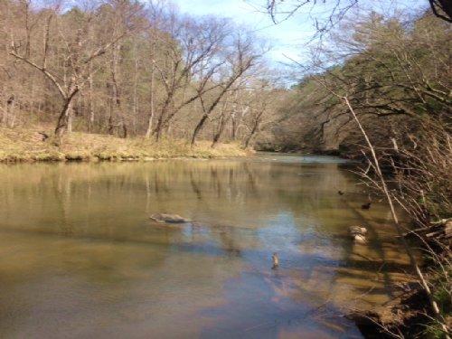 Talking Rock Creek : Talking Rock : Pickens County : Georgia