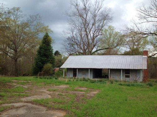 14 Acres With Old Home Place : Marion : Perry County : Alabama