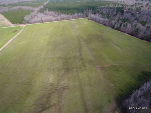 57.6 Ac, Farm Land With Wooded Are : Utica : Copiah County : Mississippi