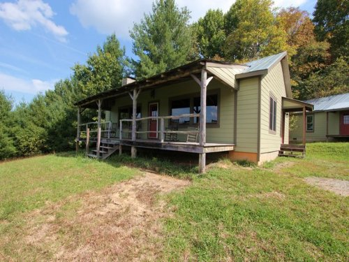 Camp In Blue Ridge Mountains : Elk Creek : Grayson County : Virginia